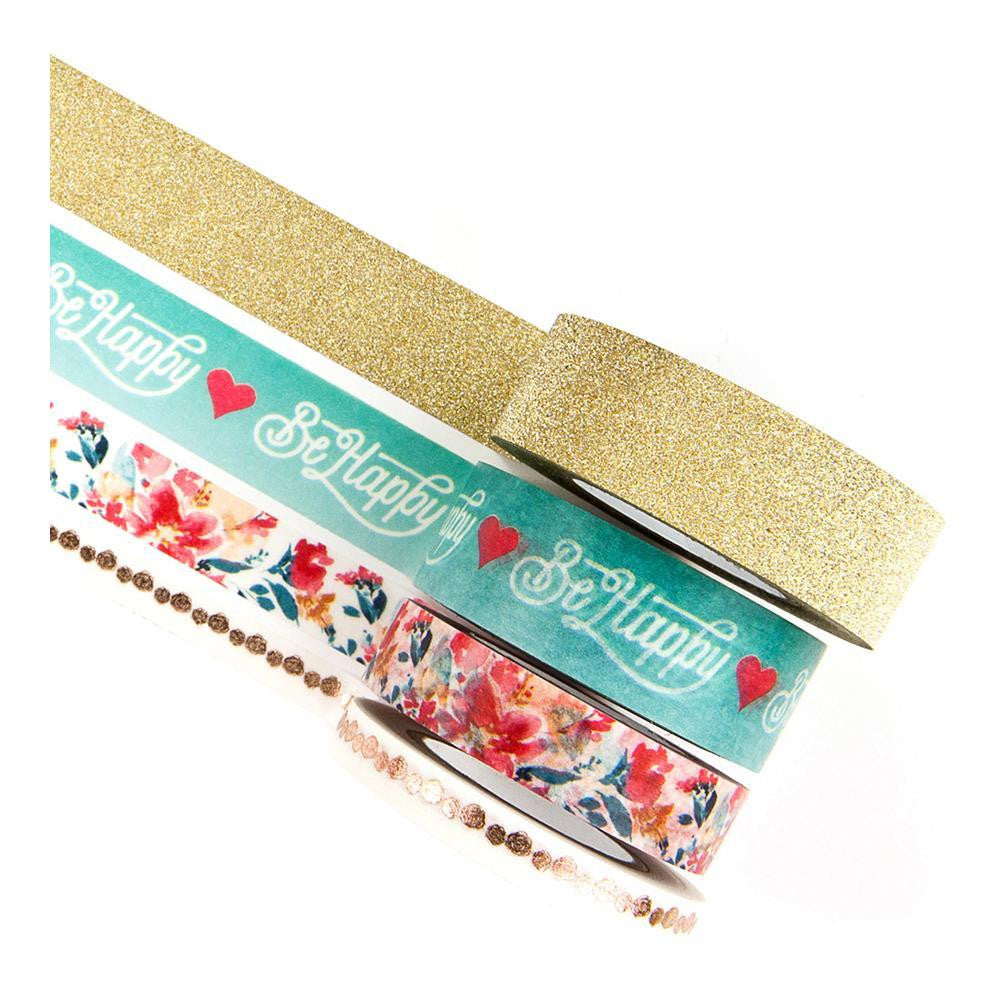 My Prima Planner - Washi Tape Sets - Be Happy - 595210