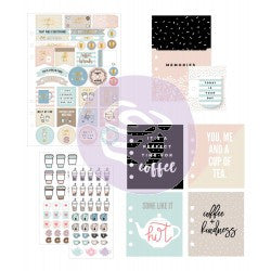 My Prima Planner - Goodie Pack - Coffee and Tea Lovers- 592240