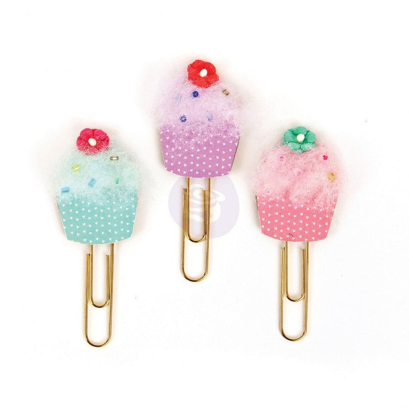 My Prima Planner Clips cupcakes