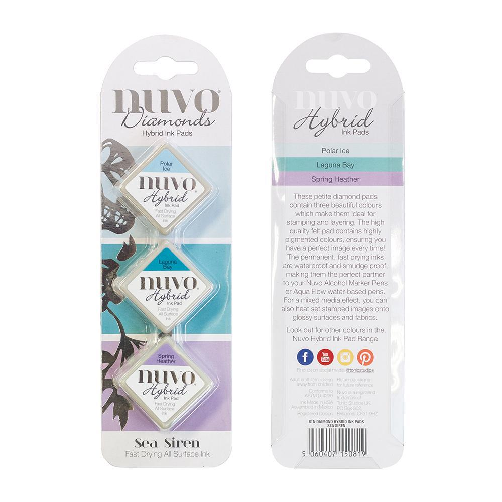 Nuvo - Tonic Studios - Hybrid ink - Diamonds Set - Sea Siren