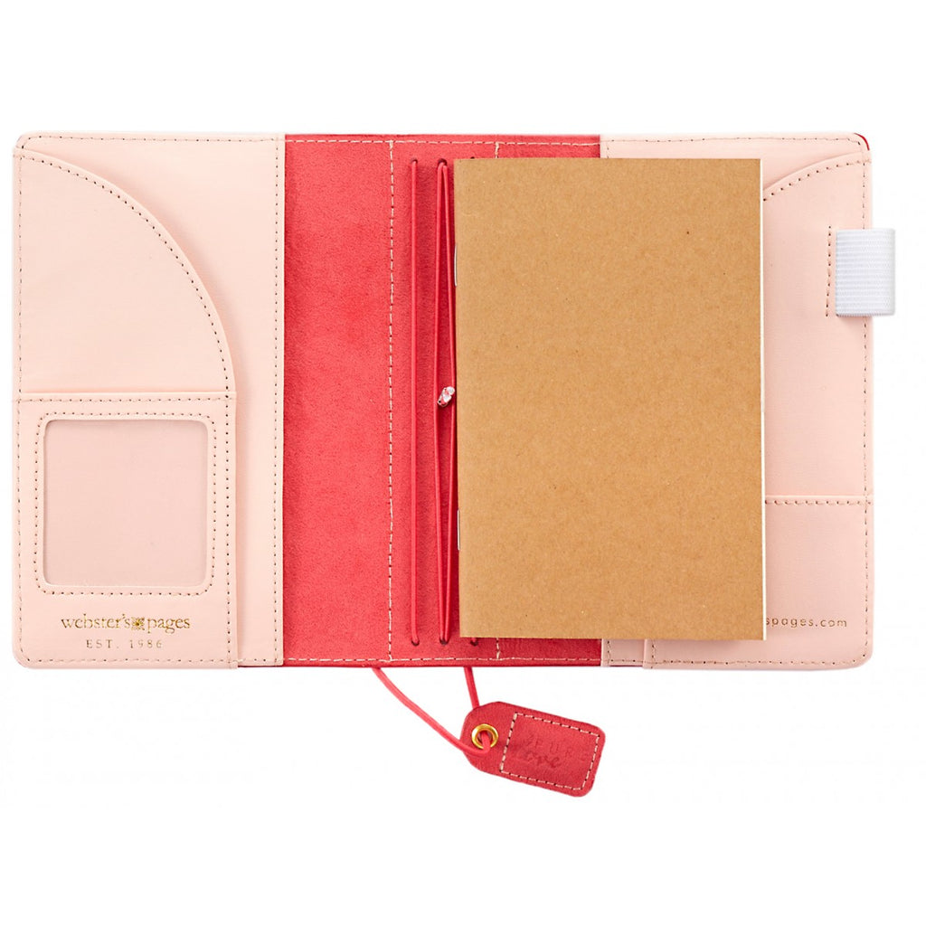 Webster's Pages Colour Crush Standard Size Travelers Notebook - Pink St
