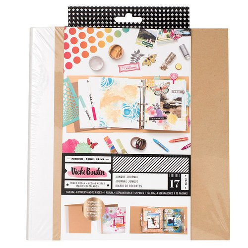 Vicki Boutin Mixed Media premium Ring bound Journal