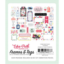 Echo Park Travelers Notebook Tags and Frames - I am Mom - mom165025