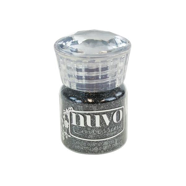 Nuvo - Tonic Studio - Embossing Powder -  Glitter Noir - 598N