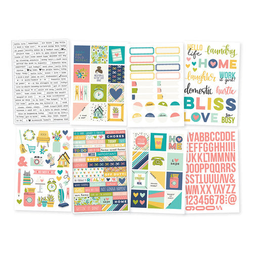 Simple Stories Domestic bliss Sticker Pack 7825