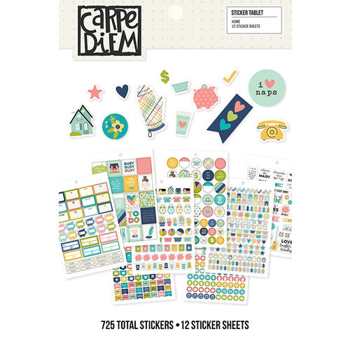 A5 Sticker Book - Simple Stories Carpe Diem - Home - cdh8916