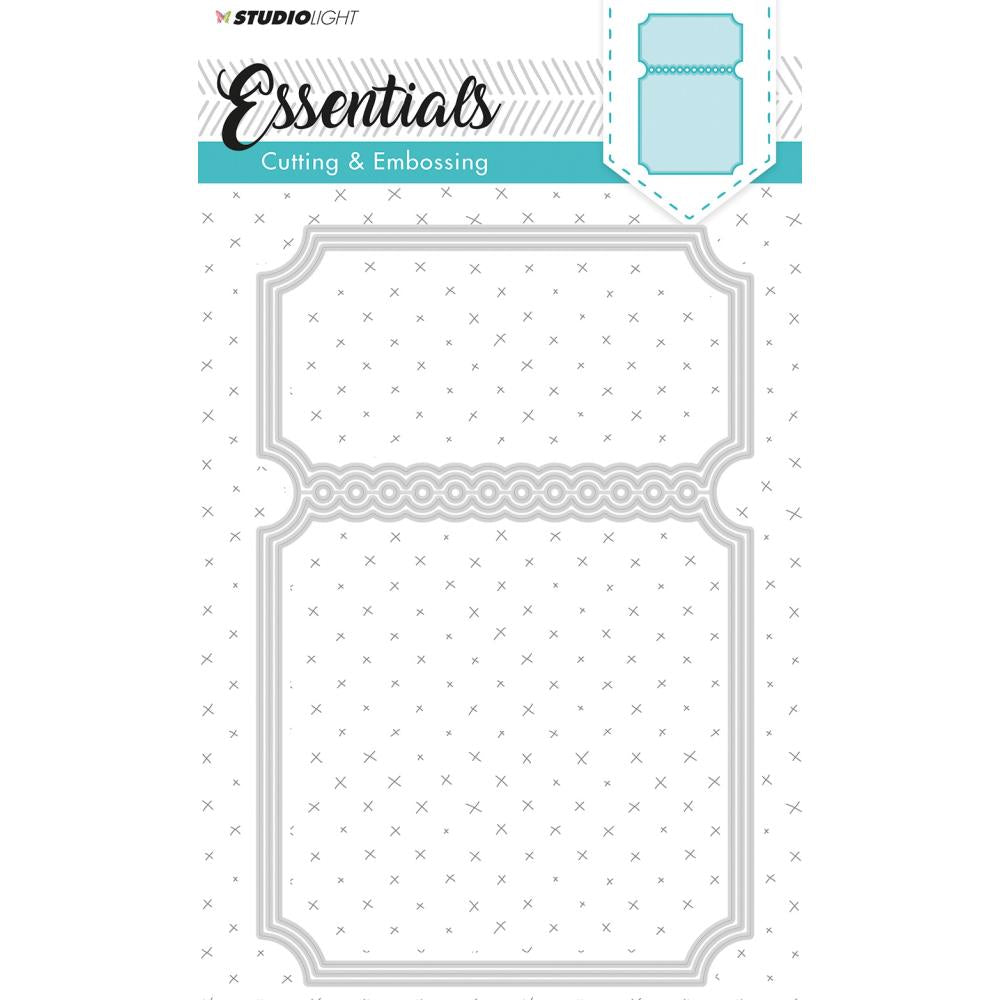 Essentials Studio Light Large Cutting and Embossing Die - stencilsl116