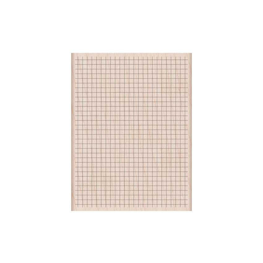 Clearly Kelly Planner Wood amount Stamp - Hero Arts - Square Grid - k6127