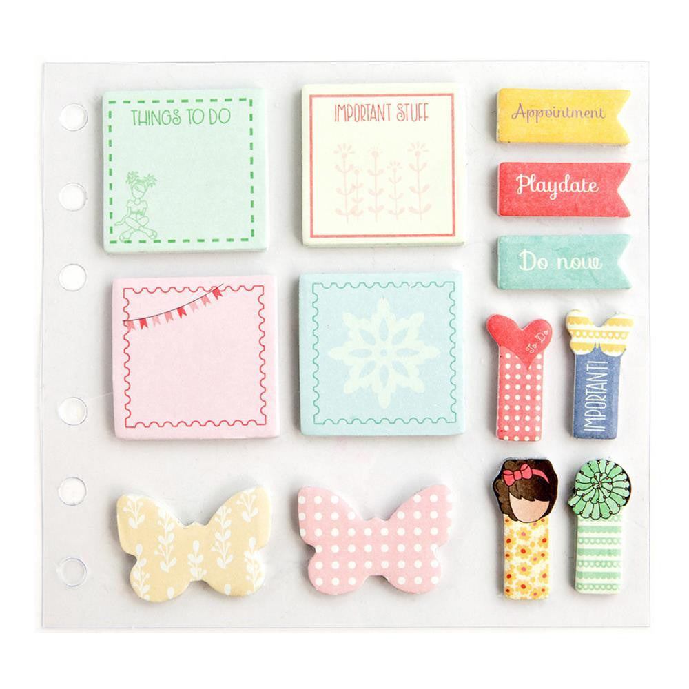 Prima Julie Nutting Planner Sticky Notes Pack - 13 pieces -912031