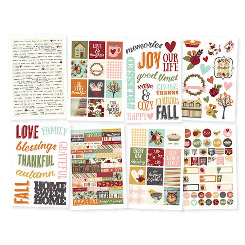 Simple Stories Vintage Blessings - Stickers 210pc - 9238