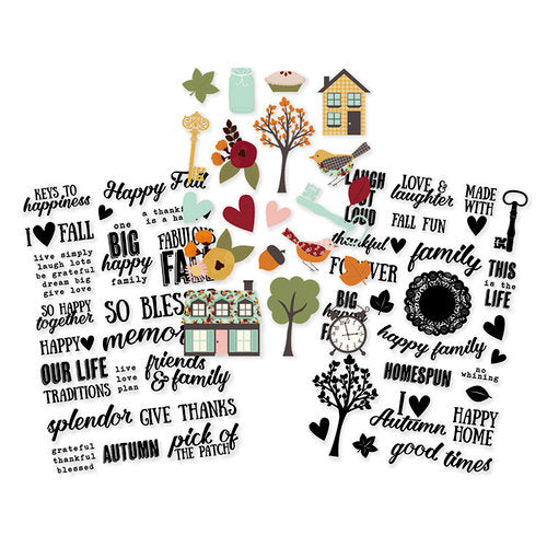 Simple Stories Vintage Blessings - Stickers 65pcs - vb9239