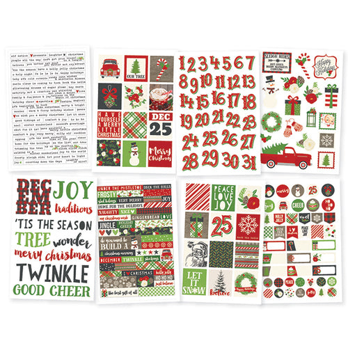 Simple Stories December Daily Very Merry Sticker Pack - 9259
