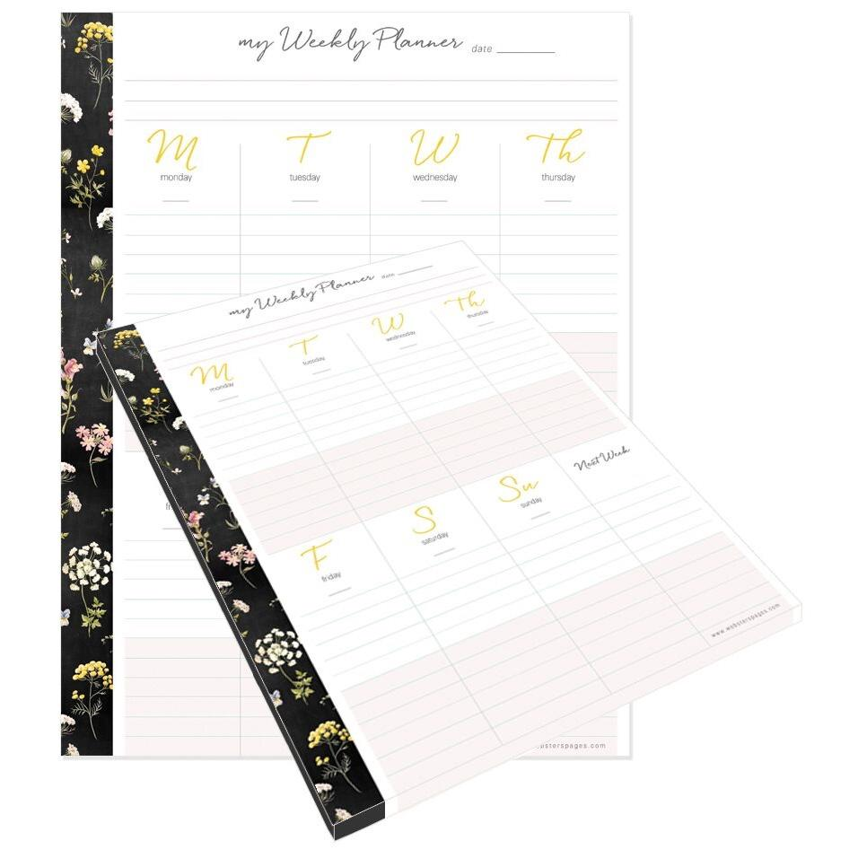 Websters pages Composition Planner Weekly Planner Pad - The Good Life - pp41