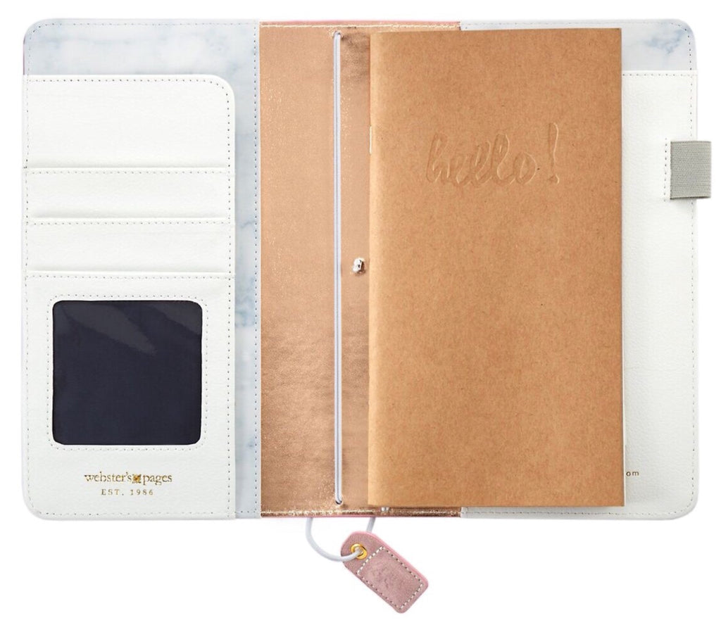 Webster's Pages Colour Crush Pocket Size Travelers Notebook - Soft Lila