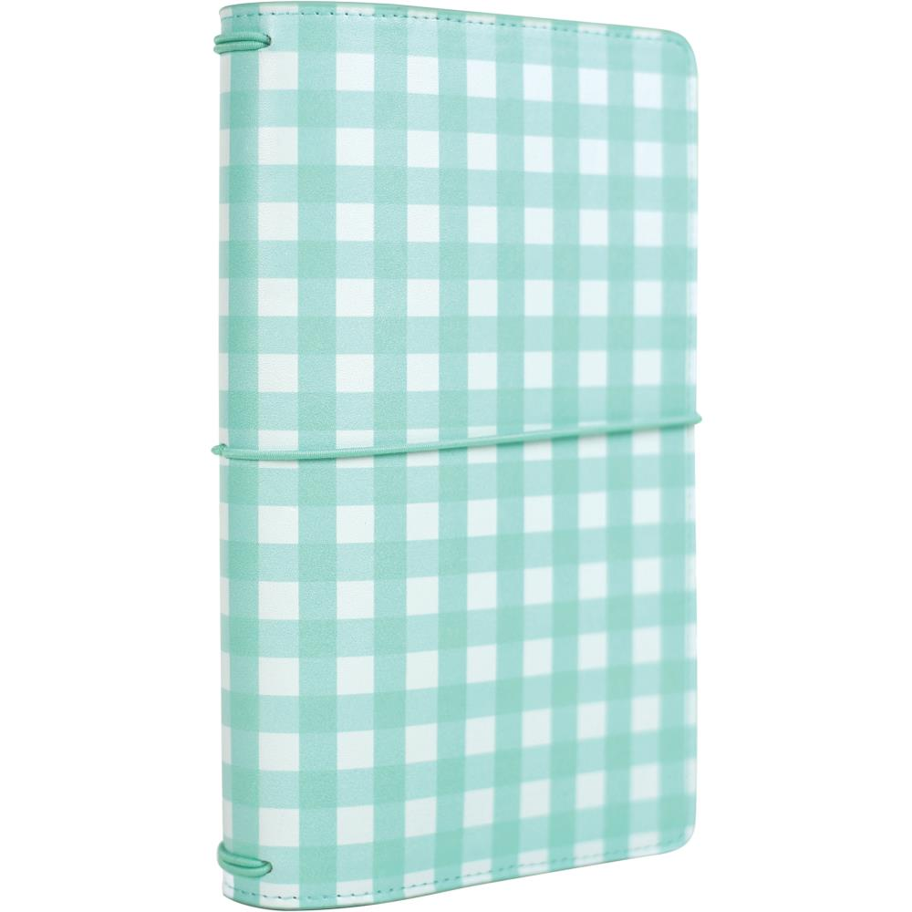 "New 2018 Echo Park Travelers Notebook 6x9"" - Mint Gingham"
