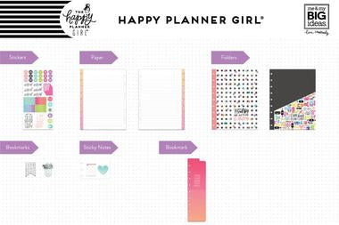 New Healthy Hero Me and My Big Ideas Classic Happy Planner Accessory Pack PSAP-0