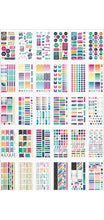 New Paper House Life Organised Fitness Sticker Book with foil accents 30 sheets