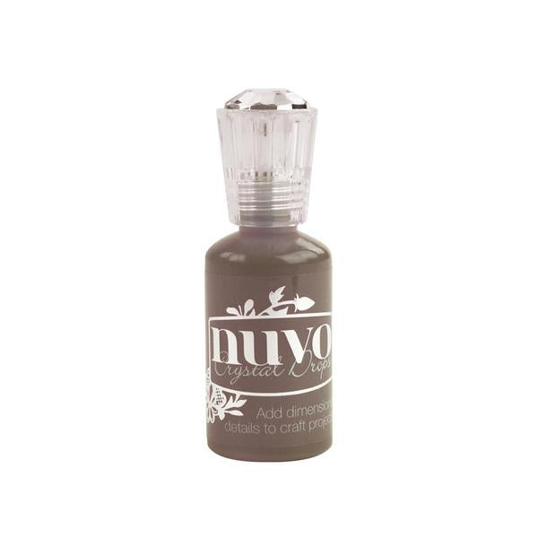 Nuvo - Tonic Studio -Crystal Drops - Dark Walnut  - 684n