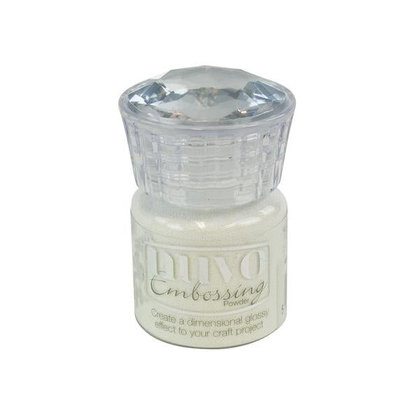 Nuvo - Tonic Studio - Embossing Powder -  Glacier White - 602N