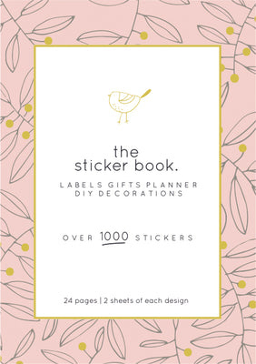 New - Kaisercraft Sticker Book Planner stickers - Chirp KS370