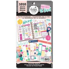 New Faith Warrior Pack 1010 pieces - Me and My Big Ideas Create 365 Happy Planne