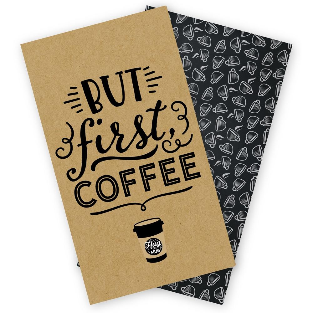 Echo Park Co Standard TravelersNotebook Insert - Coffee and Friends Daily Planne