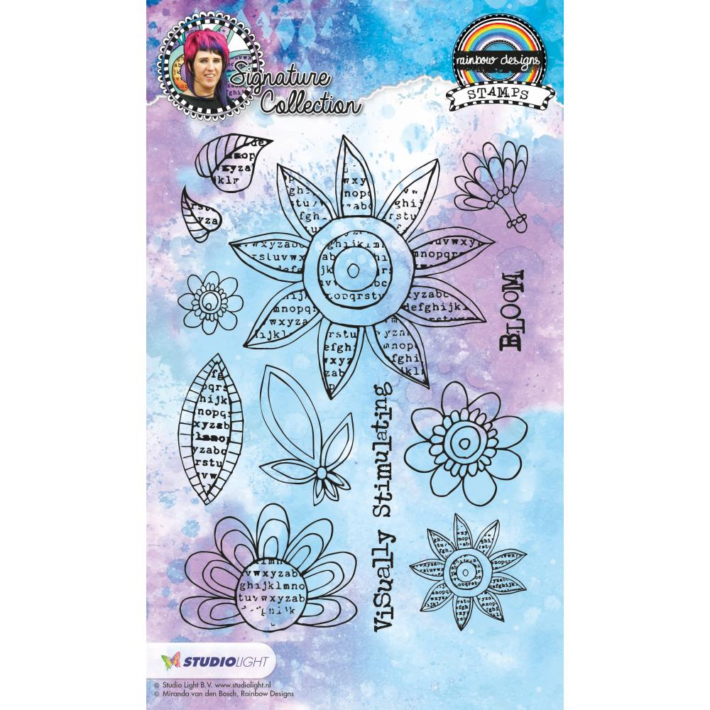 Mixed Media Studio Light Large Clear Stamp set  - stampmb12