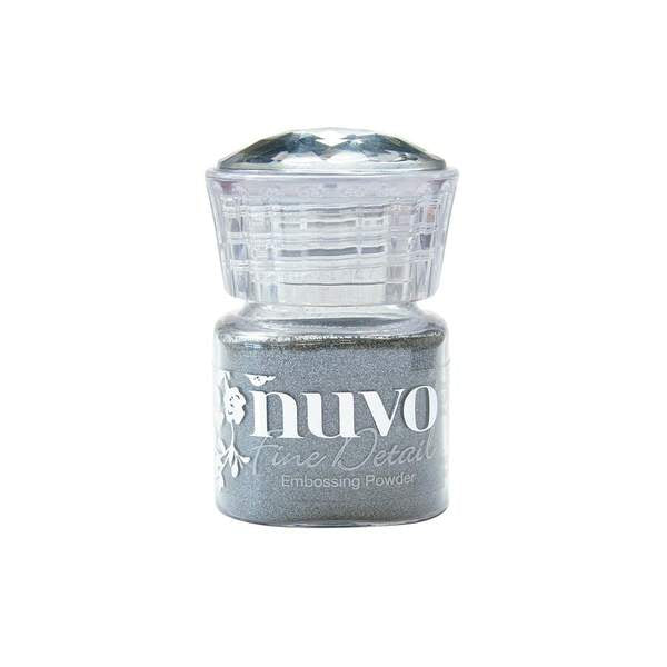 Nuvo - Tonic Studio - Embossing Powder -  Fine Detail - Silver - 584N