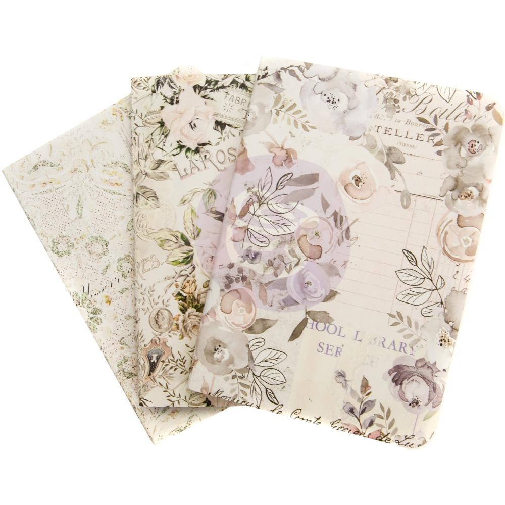New Prima Lavender Frost Passport Size Insert pack of 3