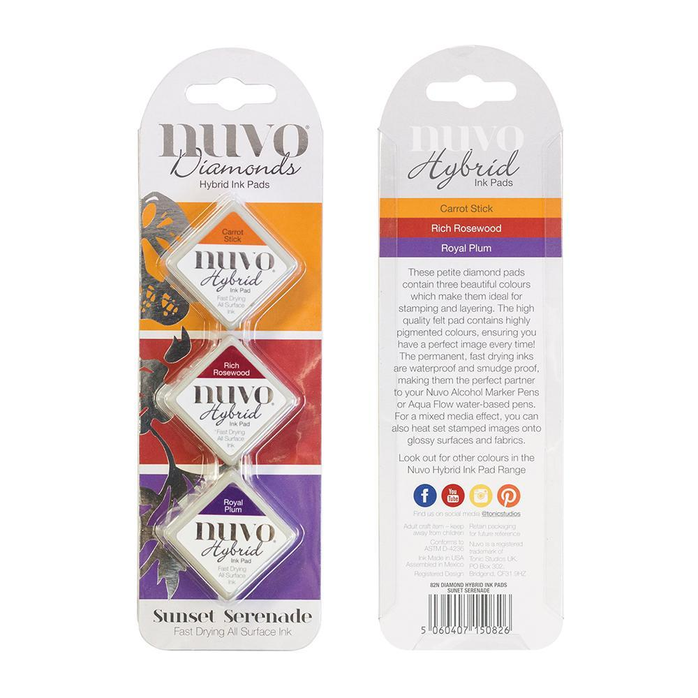 Nuvo - Tonic Studios - Hybrid ink - Diamonds Set - Sunset Serenade