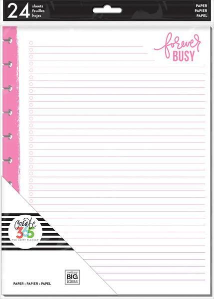 New Me and My Big Ideas -  BIG Happy Planner Inserts Neon - filbn-01