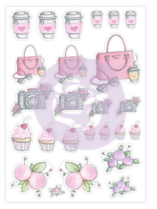 My Prima Josefina Planner Stickers - Strawberry Dreams