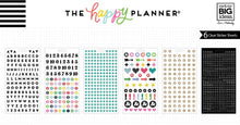 Create 365 Happy Planner Stickers Black Alpha - PPS-56