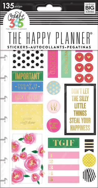 Me and My Big Ideas Create 365 Happy Planner Stickers 132 - Make It Happen PPSP-