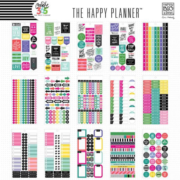 Everyday Value Pack 1486 pieces - Me and My Big Ideas Create 365 Happy Planner S