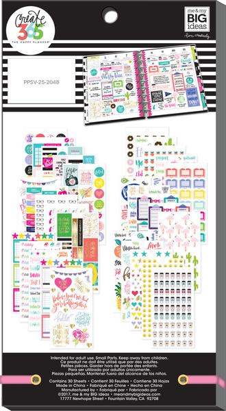 Student Value Pack 1016 pieces- Me and My Big Ideas Create 365 Happy Planner Sti