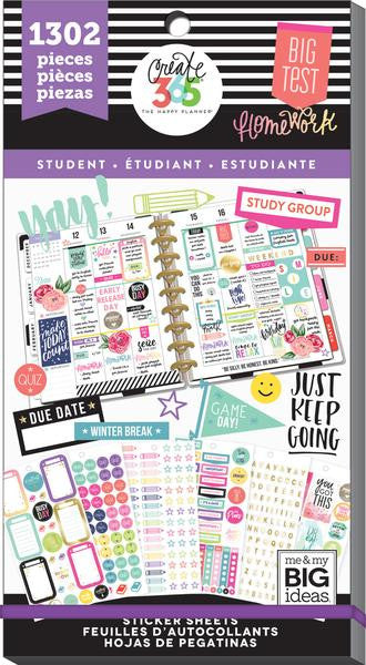 Student Value Pack 1302 pieces- Me and My Big Ideas Create 365 Happy Planner Sti