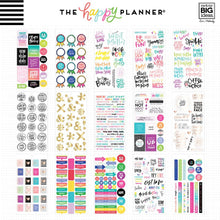605 pieces- NEW Me and My Big Ideas Create 365 Happy Planner Sticker Book - Gold Star Quotes - ppsv-75-3048