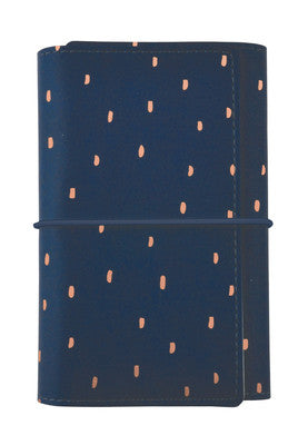 Kaisercraft Small Planner Navy with Rose Gold Foil Accents - SA057