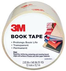 Scotch 3M Book Tape 72mm x 13.7 metres