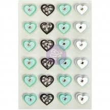 My Prima Planner Collection - Traveler's Journal - Hearts - Aqua Love - 594206