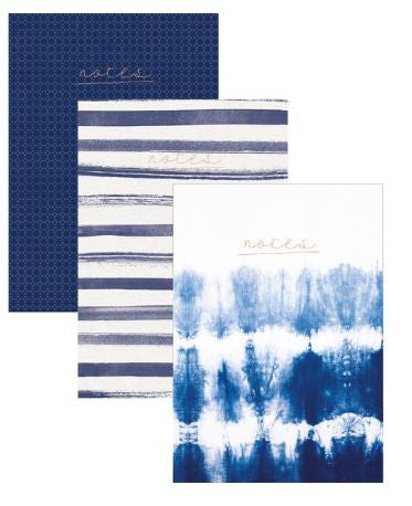 Kaisercraft Notes Pack 3 A5 - Indigo - KS017