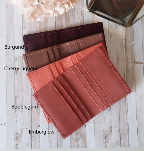 READY TO SHIP Naya Paperie LEATHER CARD HOLDERS