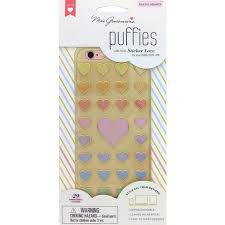 Mrs Grossmans Puffies - Pastel Hearts