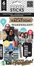 Me and My Big Ideas Planner Stickers We're on Vacation -pps-31