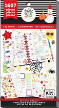 Seasonal Value Pack 1607 pieces - Me and My Big Ideas Create 365 Happy Planner S