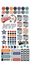 Paper House Life Organised Stickers 260pcs - Sports - SPTL-0001e