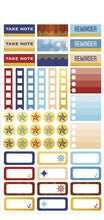 Paper House Life Organised Stickers 259pcs - Nautical - STPL-5e