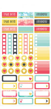 Paper House Life Organised Stickers 258pcs - Family - STPL7e