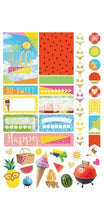 Paper House Life Organised Stickers 96pcs - summertime - STPL-0011